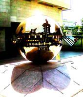Lit Sphere Within Sphere by Inwitari-Turelie