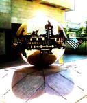 Lit Sphere Within Sphere