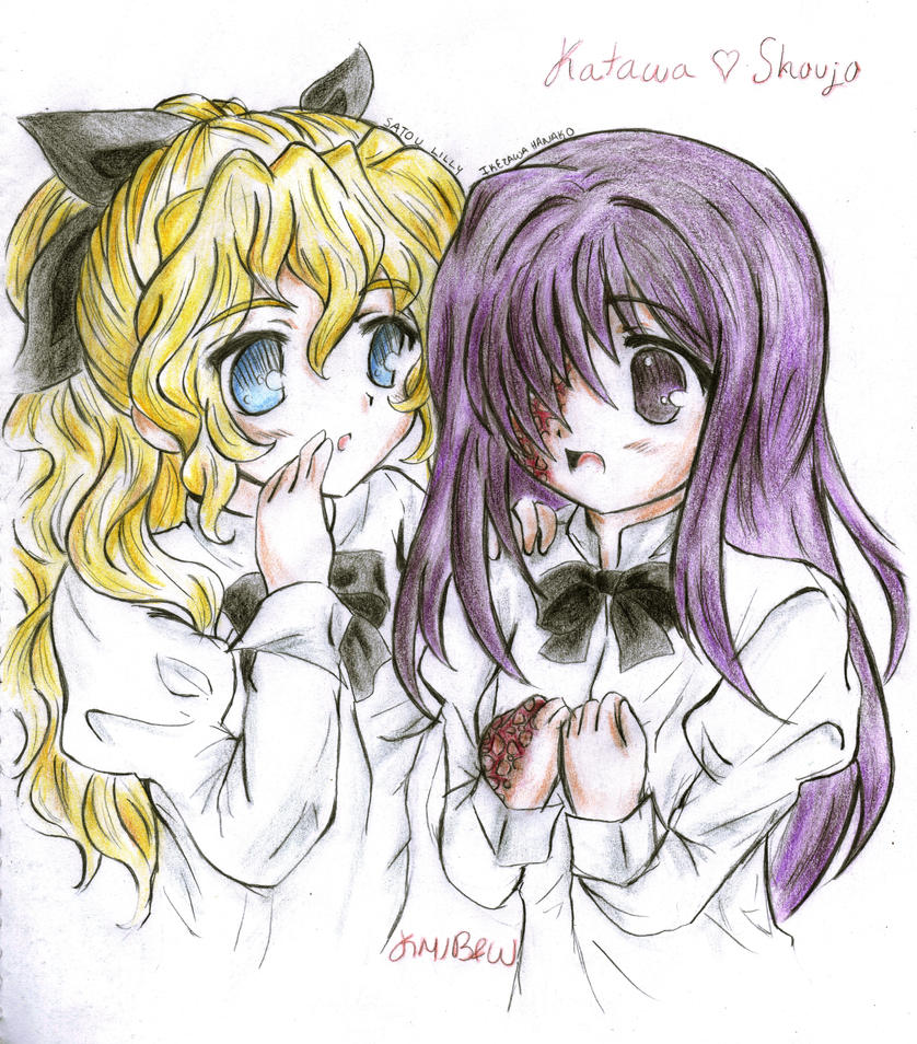Hanako And Lilly By Karenmizuno On DeviantArt