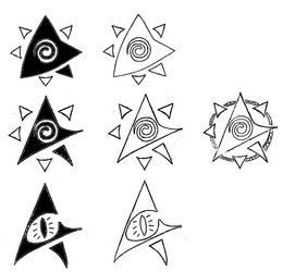 Design of A icon