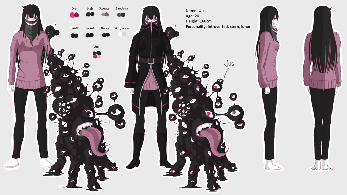 Reference Sheet: Uu by calponpon