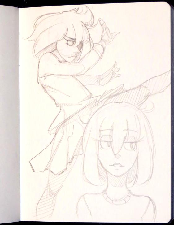 Sketchbook 003 by calponpon