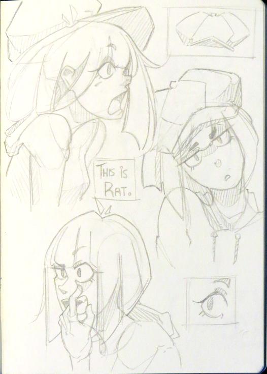 Sketchbook 006 by calponpon