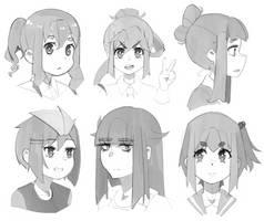 Moe Sketches