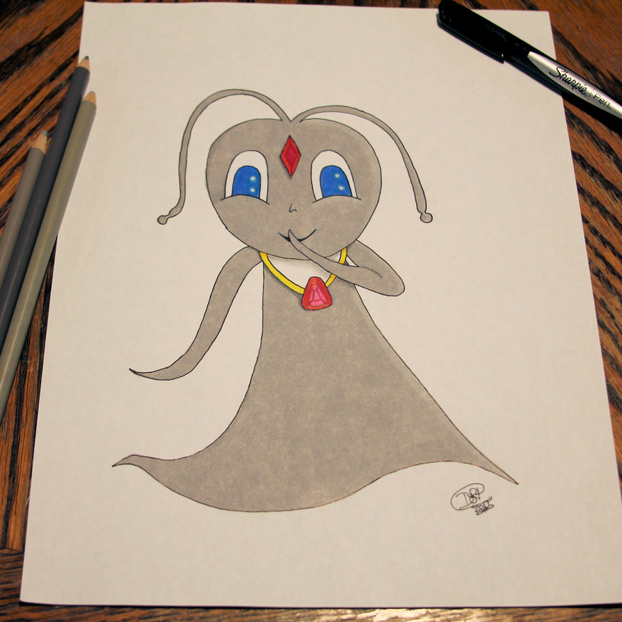 Ninfie spirit form (drawn in my style) for contest by Shadowhawk9973