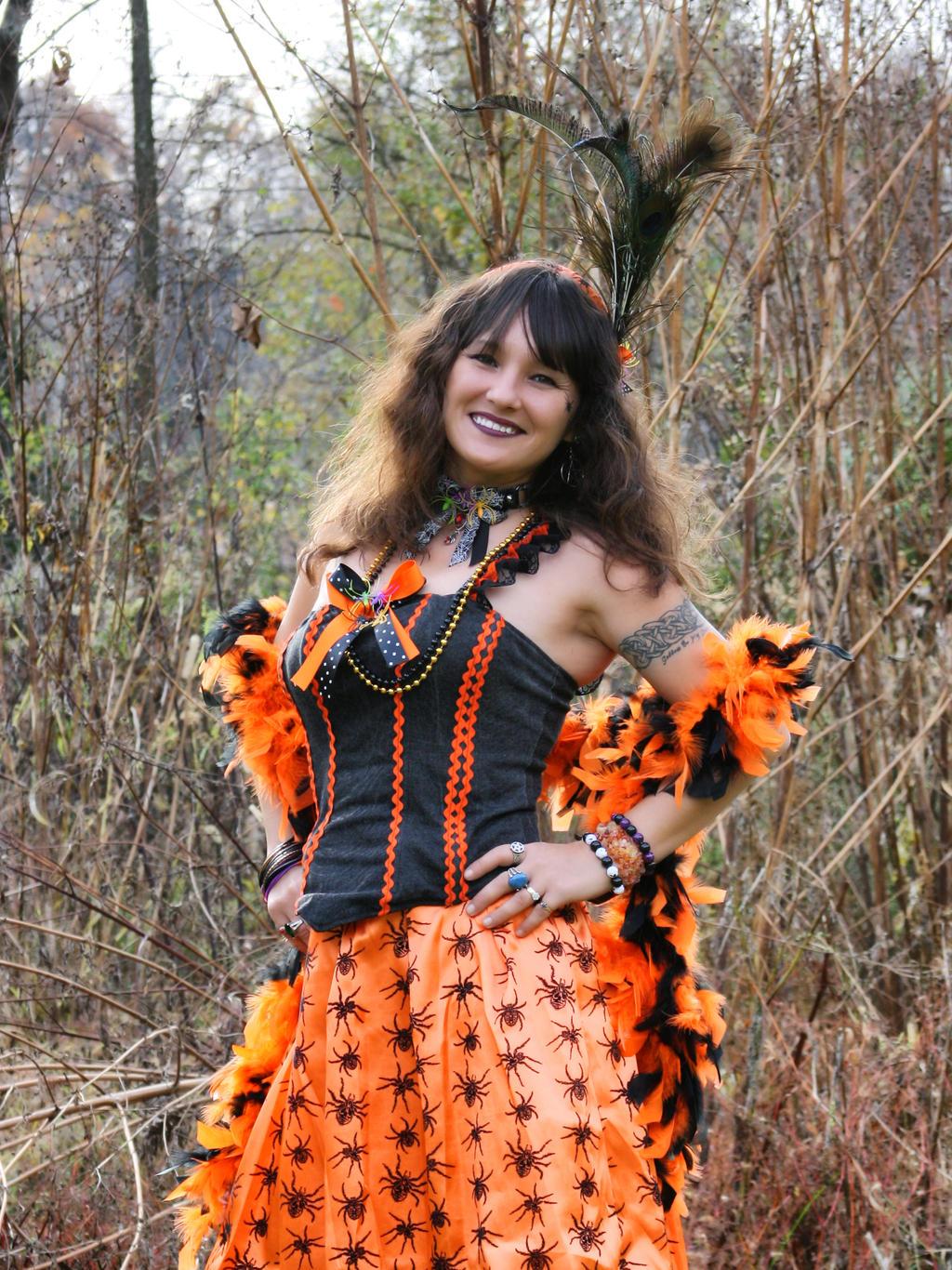 Halloween Saloon Girl Costume