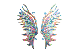 Psychedelic Fairy Wings D001 by Shadowhawk9973