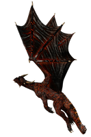 HellBornDragon D001 Pose2 by Shadowhawk9973