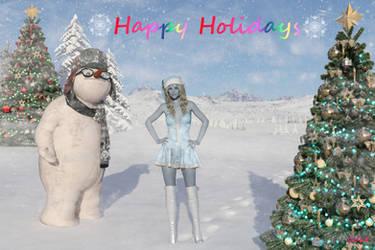 Happy Holidays 2018 by Shadowhawk9973