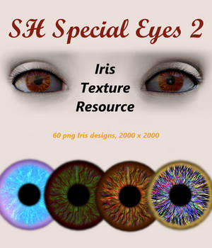 SH Special Eyes 2 Iris Texture Resource Promo1