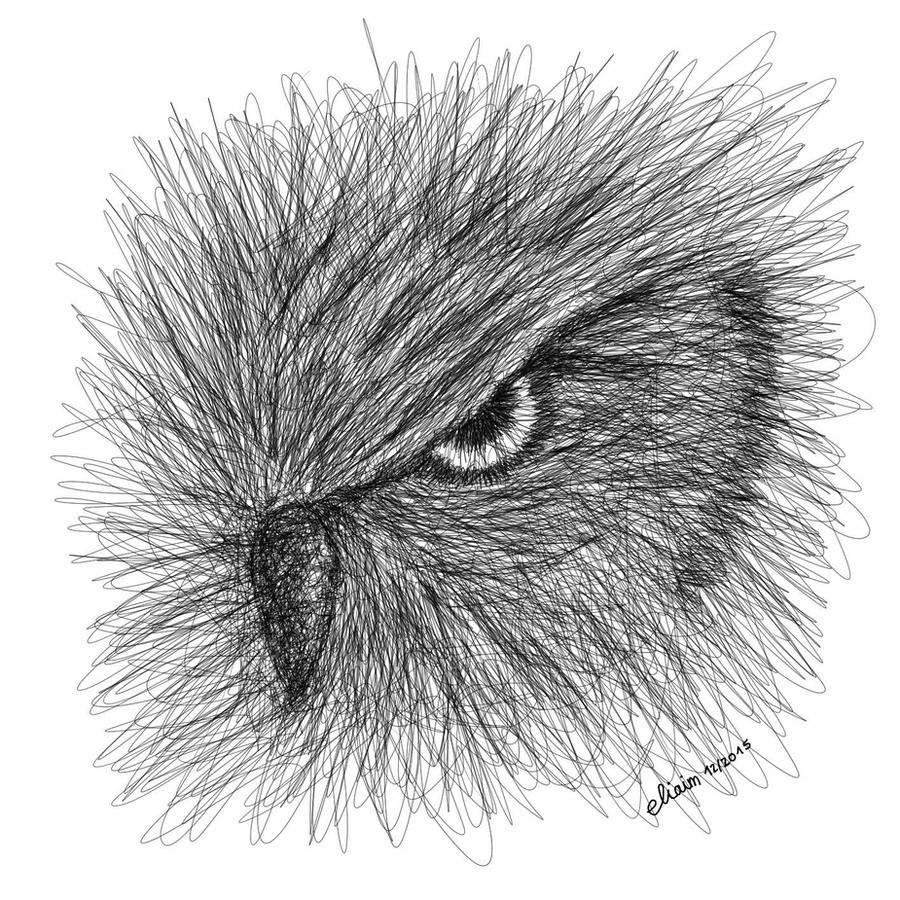 Scribble Drawing Art : Owl scribble art by eliaim on deviantart