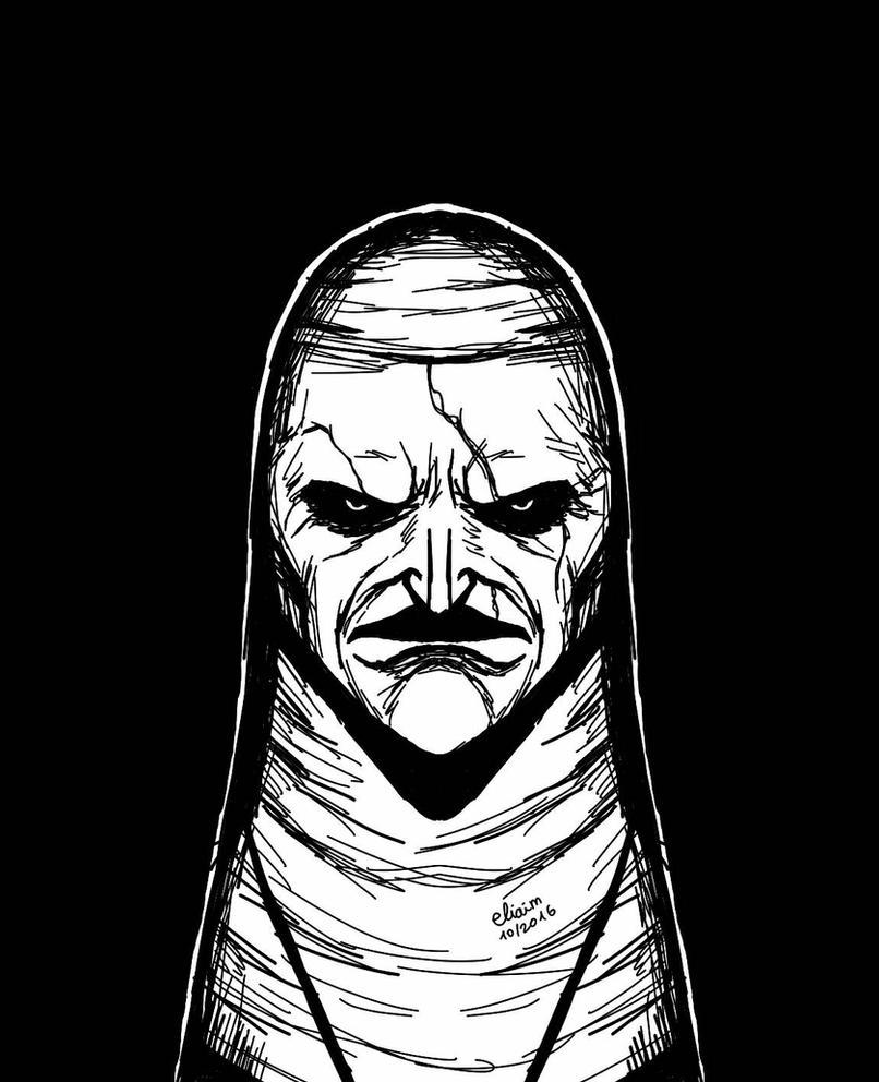 Valak - The Conjuring 2 - Demon Nun by eliaim