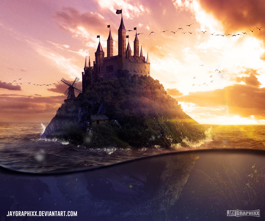 The Island of Mysteries by JayGraphixx