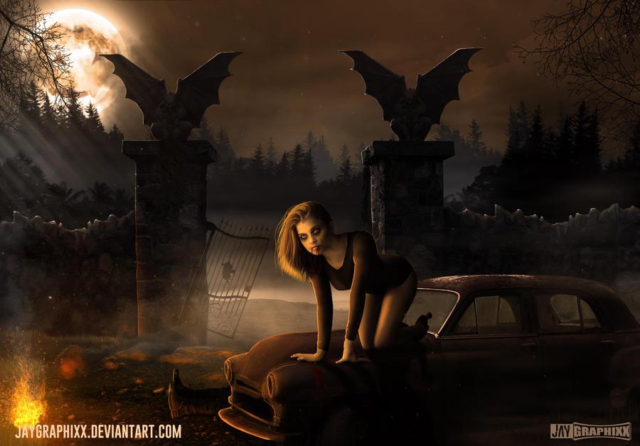 The Night Before Halloween by JayGraphixx on DeviantArt