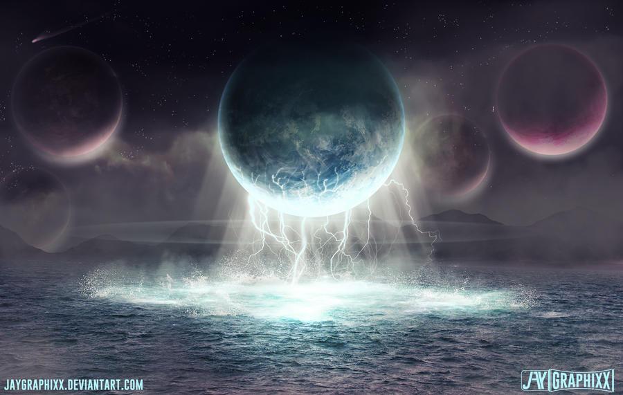 Interstellar Tides by JayGraphixx