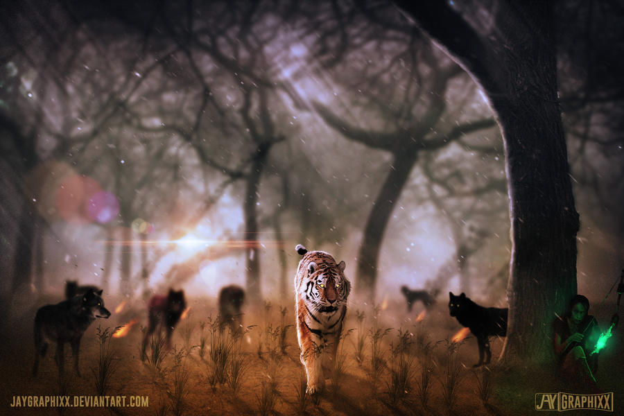Hunt Or Be Hunted by JayGraphixx