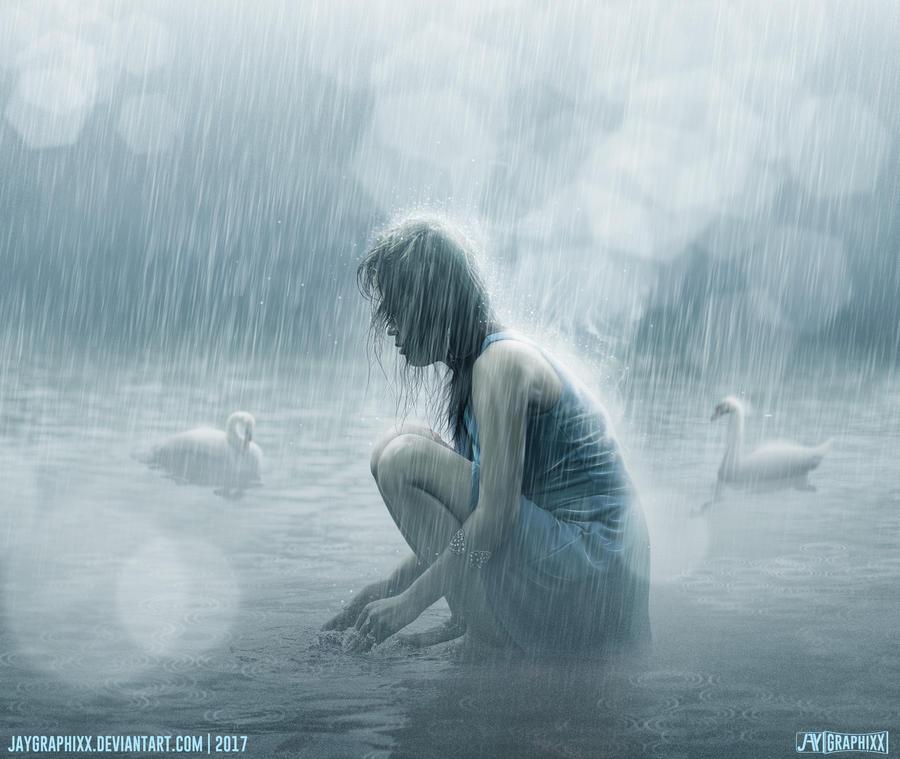 Washing The Sorrows Away