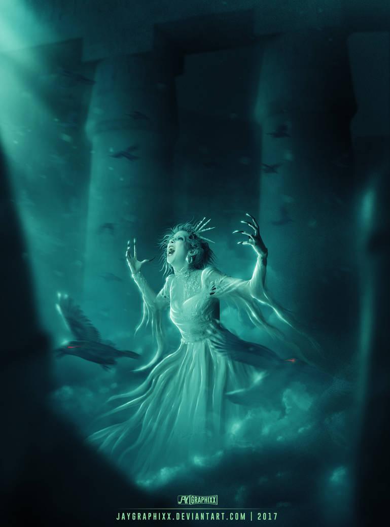 She's Awake by JayGraphixx