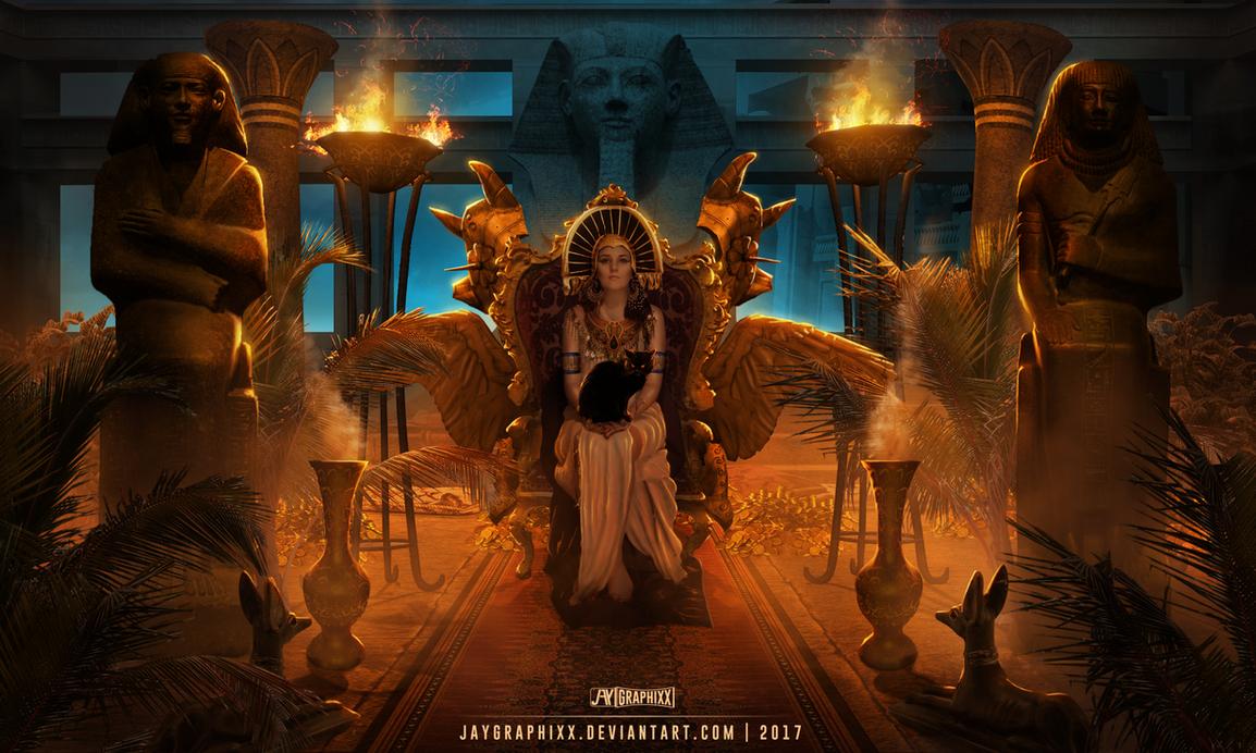 Goddess Of Egypt by JayGraphixx