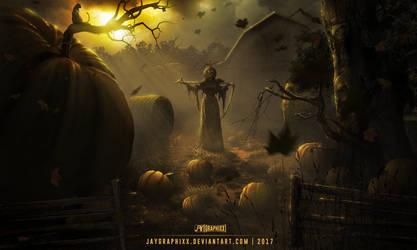 Queen of Pumpkins by JayGraphixx