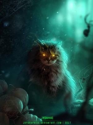 Kitty Magic by JayGraphixx