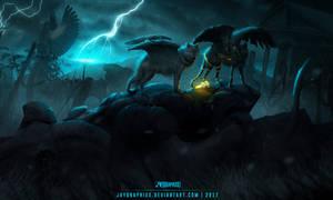 Descendants Of The Fallen Gods by JayGraphixx