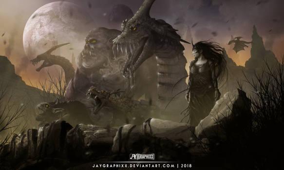 Rein Of The Warlock Queen by JayGraphixx