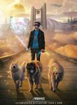 Cyber Dog-Walker