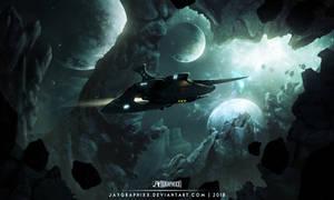 Through The Nova Void by JayGraphixx