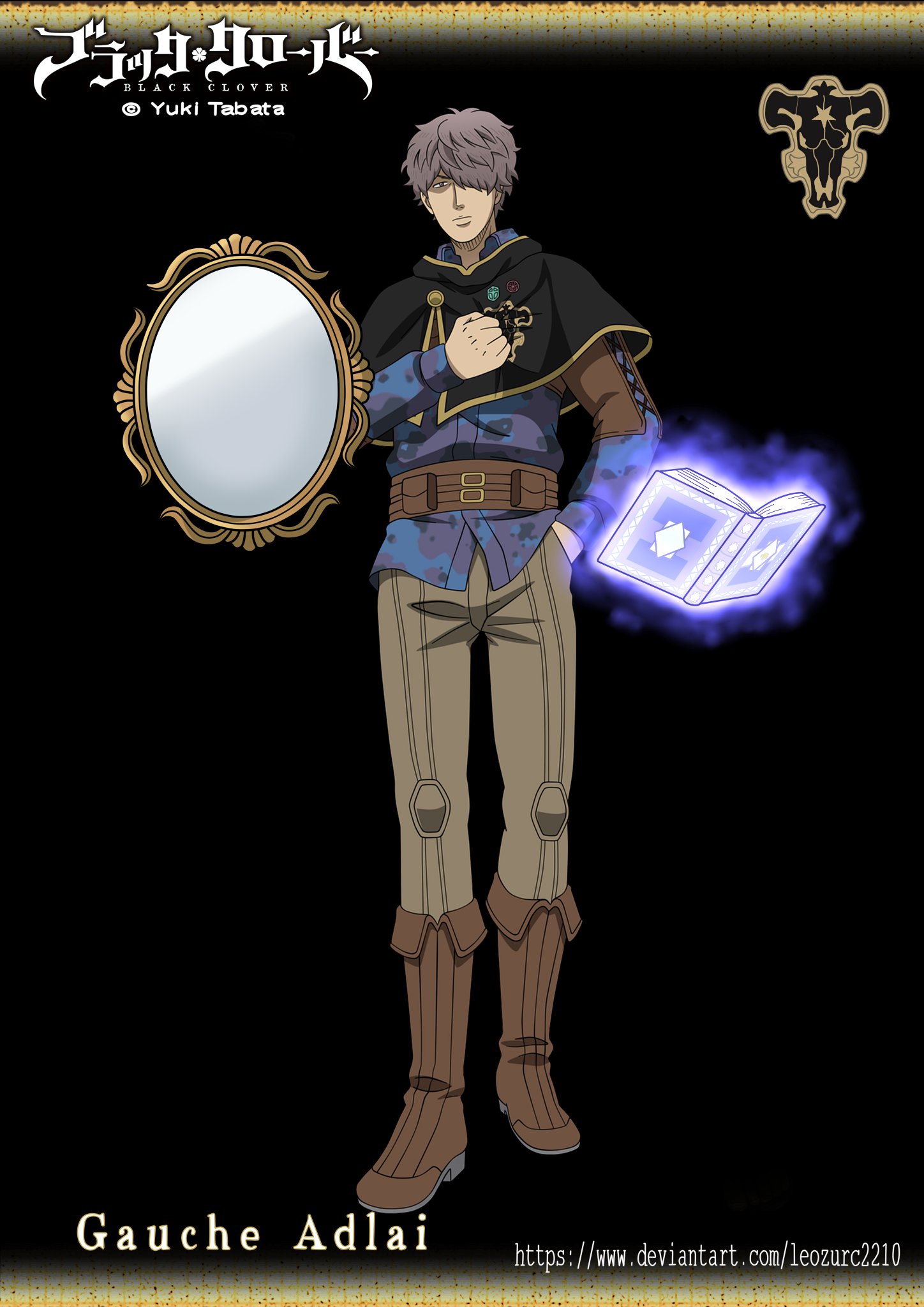 How Old Is Gauche Black Clover