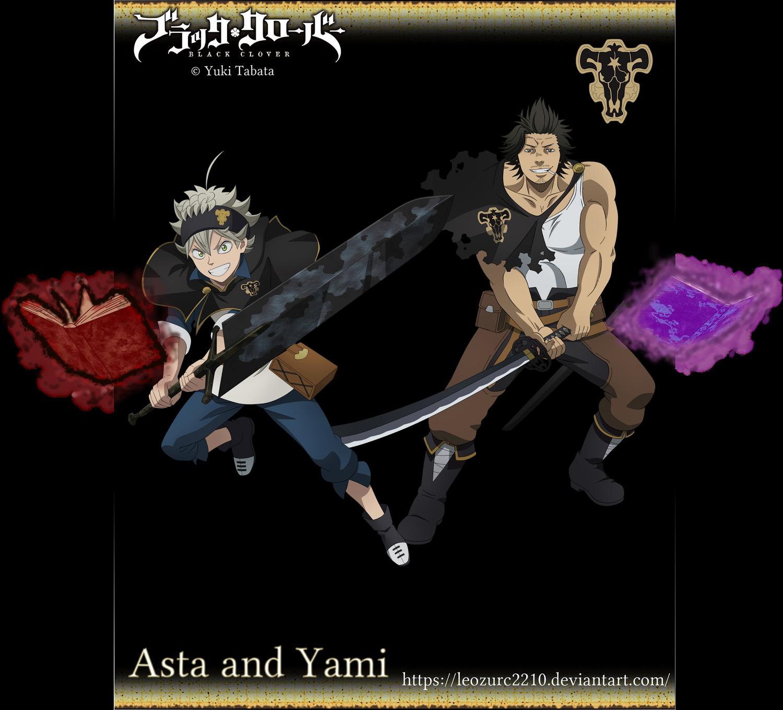 Asta And Yami By Leozurc2210 On Deviantart
