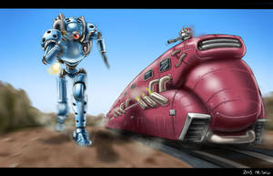 Super Power Robot Yokozuna by Mr-Shin