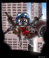 Rocket J Squirrel by Mr-Shin
