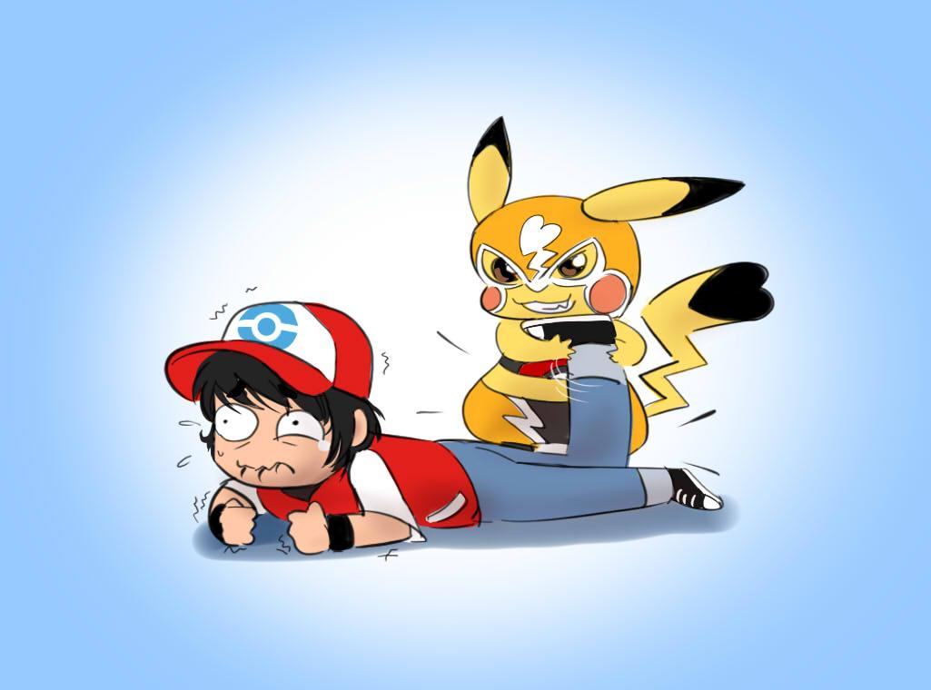 Sexy animated pikachu