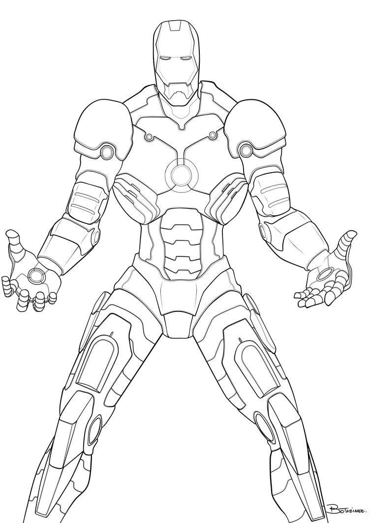 iron man linesdarkchapolin on deviantart
