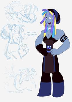 Blue Bismuth