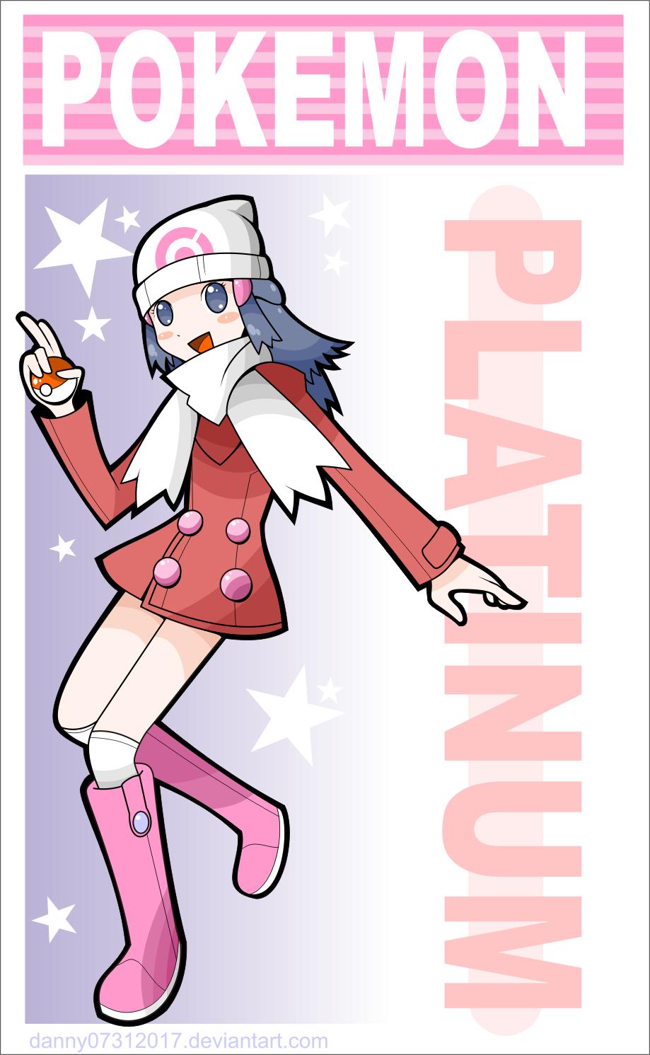 Pokemon platinum by daniwae on deviantart - Pokemon platine legendaire ...