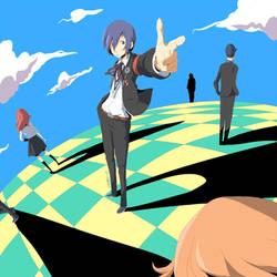 Persona 3 by daniwae