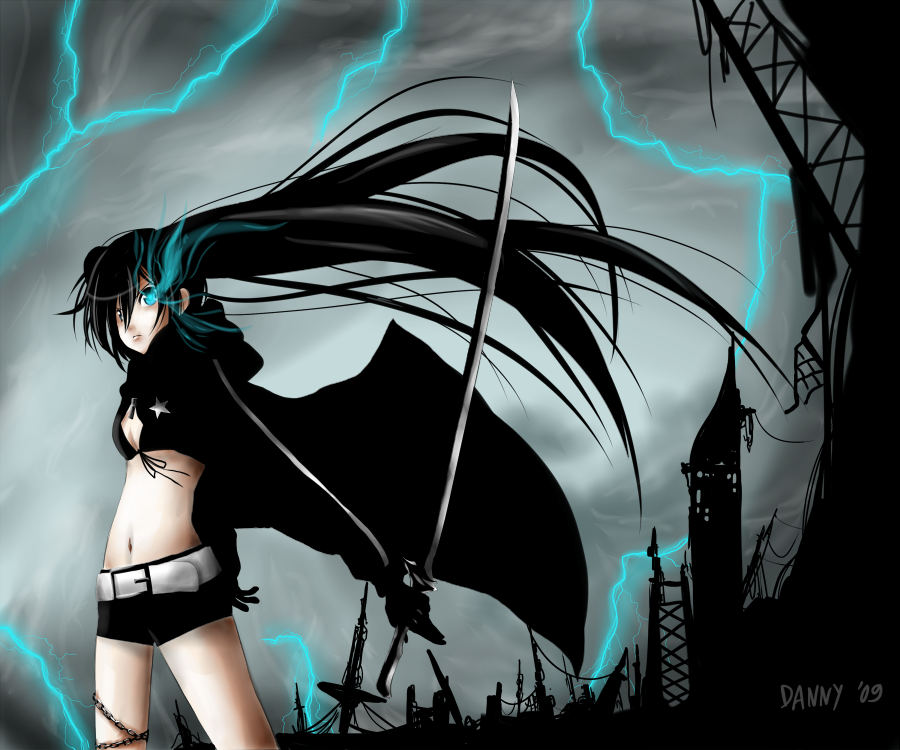Vocaloid: Black Rock Shooter by daniwae