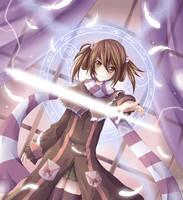 Sword Mage by daniwae