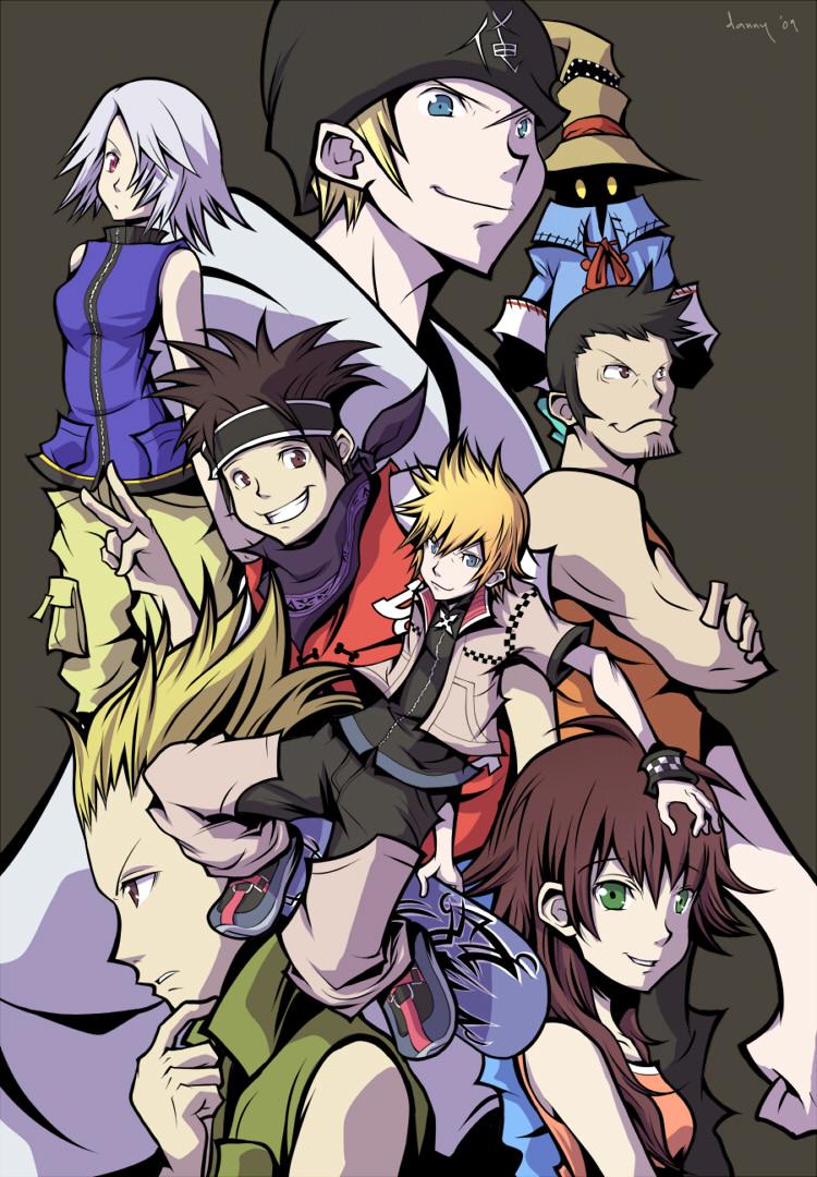 Kingdom Hearts -  Twilight by daniwae