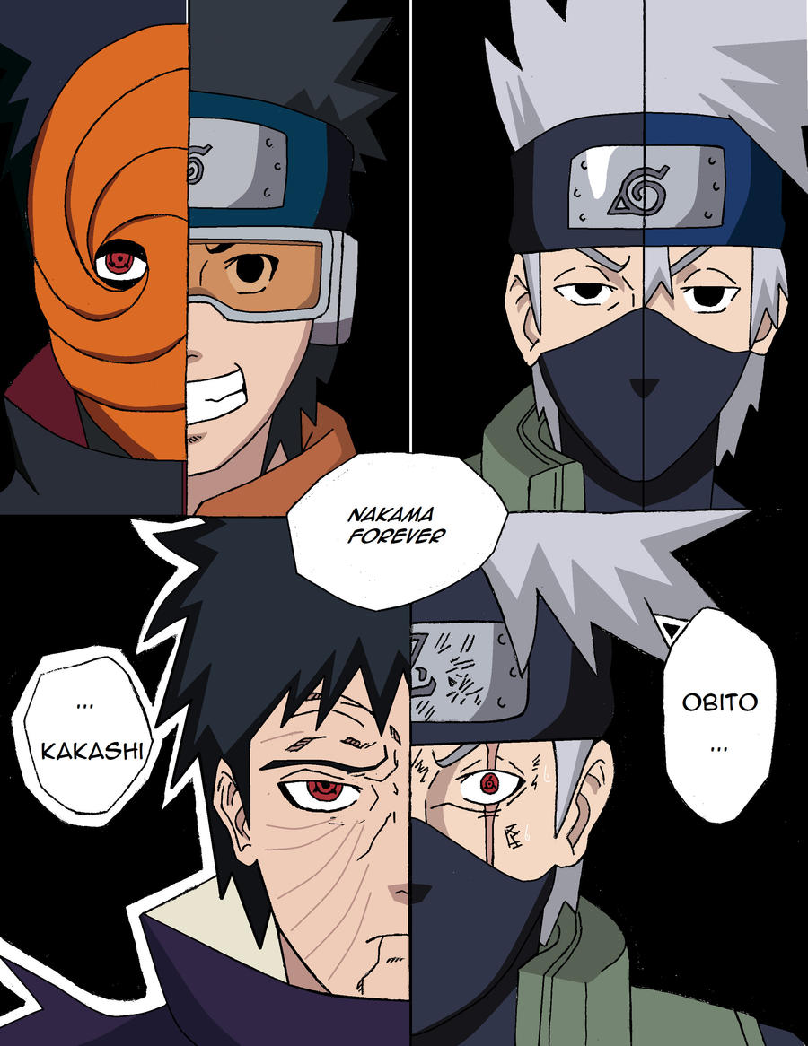 obito and kakashi meet again