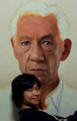 Portrait work in process by JW-Jeong