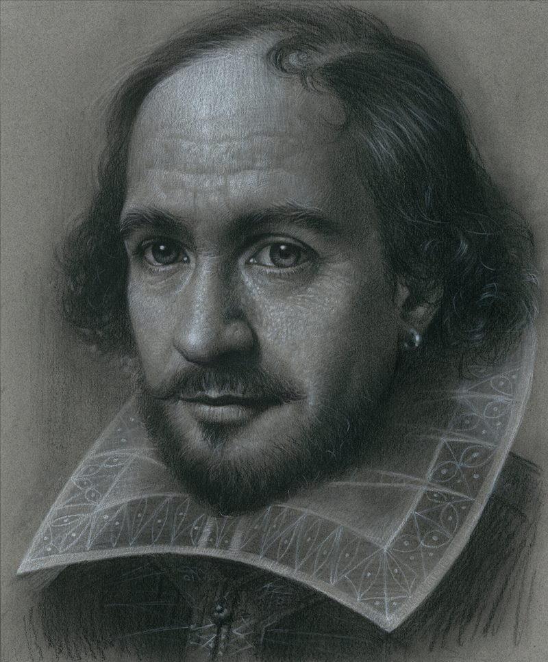 Shakespeare by JW-Jeong