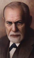 Sigmund Freud by JW-Jeong