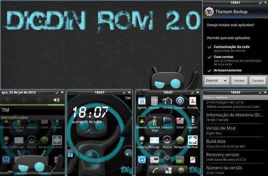 Digdin Rom - User Interface Design