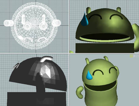 Cute Android 3D