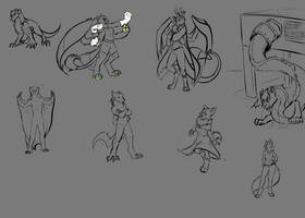 September raffle sketches [1/2]