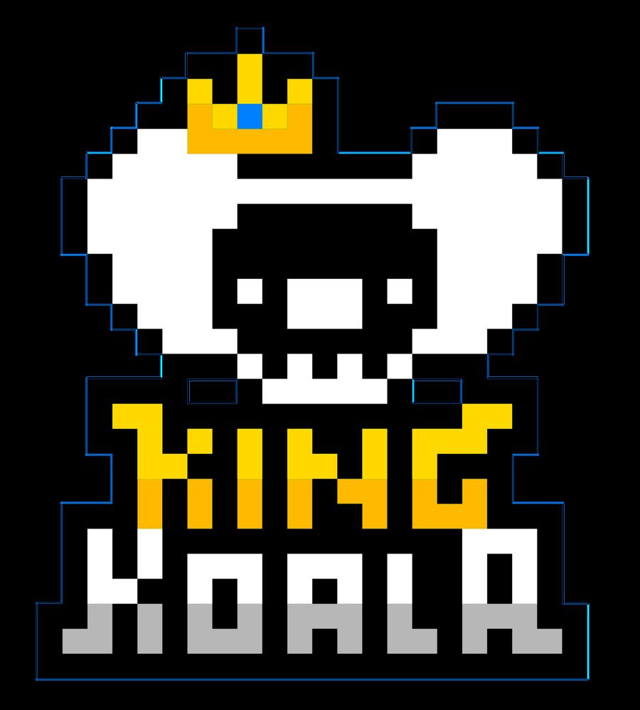 King Koala Pixel Logo By NNWW On DeviantArt