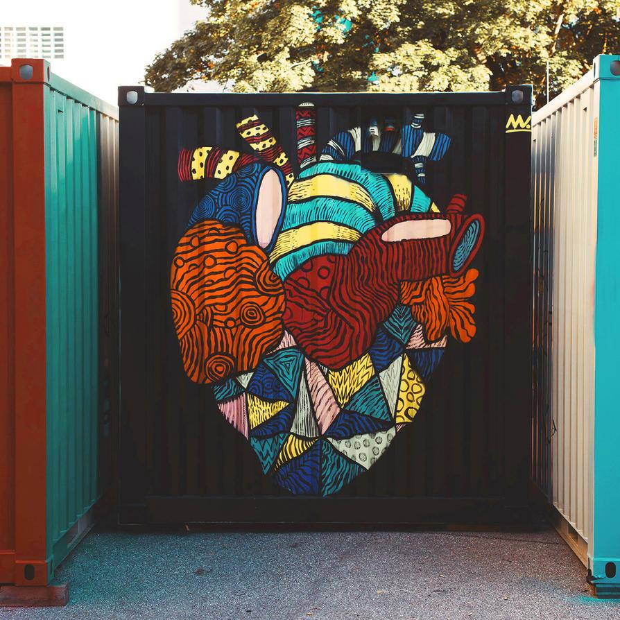 Diversified Heart by NNWW